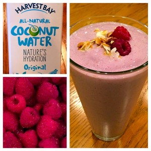 coconut raspberry
